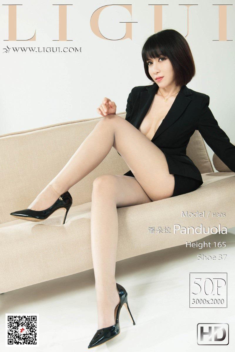 [Ligui丽柜]2020.09.07《霸道女秘书》潘朵拉[50+1P/119M]